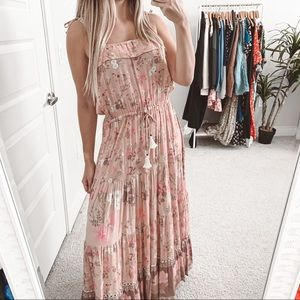 Spell & The Gypsy Wild Bloom Strappy Floral Dress